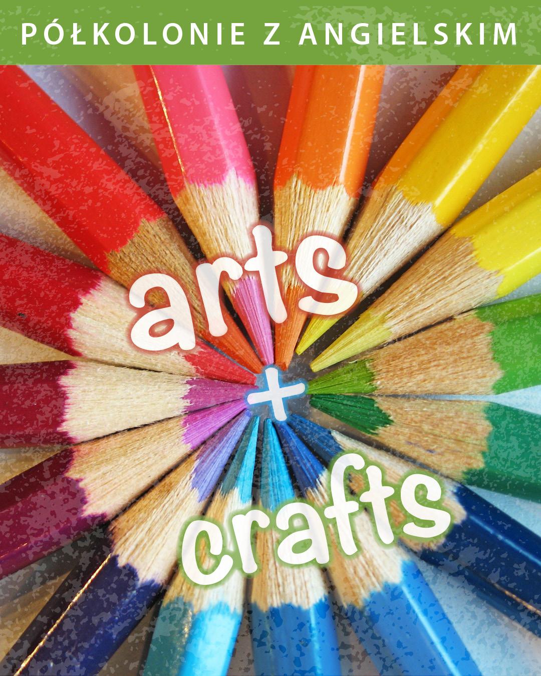 półkolonie z angielskim gdynia, arts & crafts